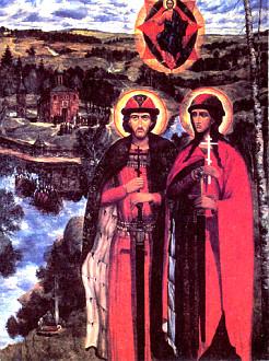 А. Колесников. «Борис и Глеб»