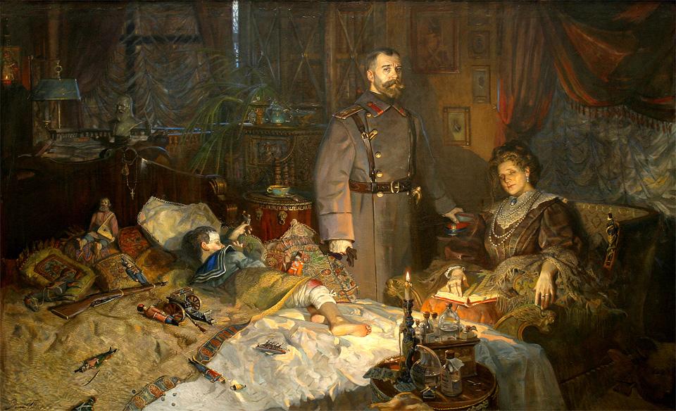 Русский художник павел рыженко