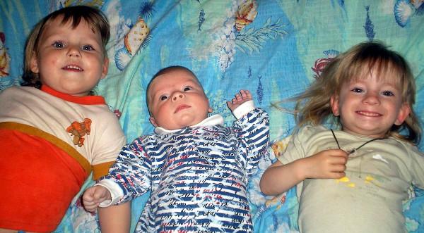 Николай с сёстрами