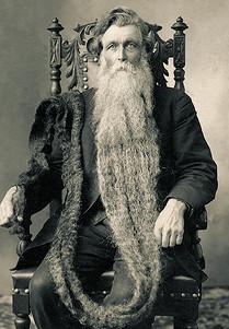 Ганс Лангсет. Носитель самой длинной бороды в мире