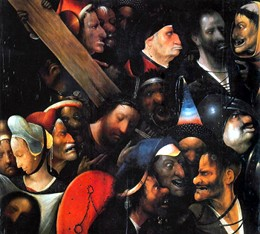 Несение креста». Иероним Босх