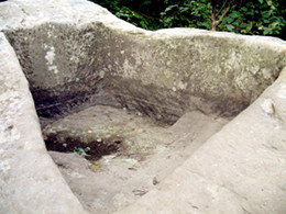 Камень, на котором молилась святая
