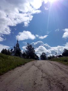 Храм Владимирской иконы Божией Матери в с. Давыдово