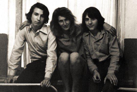 В поселке Бозой Иркутской области, 1978 г.