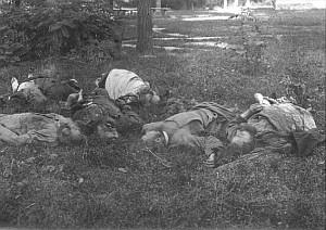 Убиенные монахи Мгарского монастыря