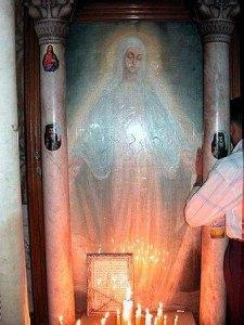 Икона явления Божией Матери в Зейтуне