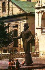 Памятник Иоанну Феодорову во Львове