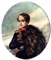 М. Ю. Лермонтов, автопортрет