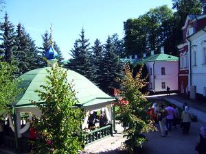 Монастырский колодец в честь Преподобномученика Корнилия