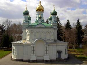 Церковь, построенная на месте Полтавского сражения
