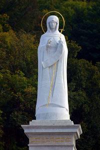 Изображение Пресвятой Богородицы