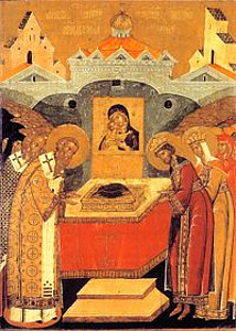 Положение ризы Пресвятой Богородицы во Влахернах