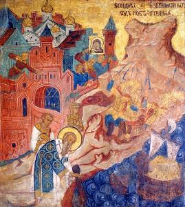 Чудесное спасение Константинополя от нашествия неприятеля