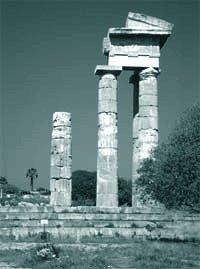 Колонны храма Апполона