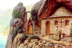 Паломничество преподобного Антония на Афон
