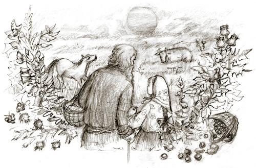 О репьях и ягодах