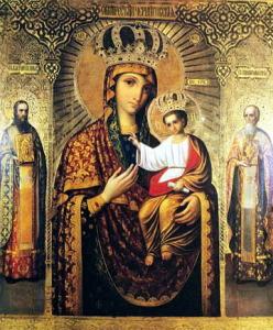 Черниговская-Гефсиманская икона