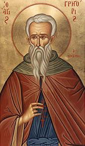 Преподобный Григорий Синаит