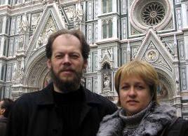 Протоиерей Георгий и матушка Марианна Коваленко