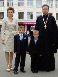 Протоиерей Олег и матушка Алла Мельничуки