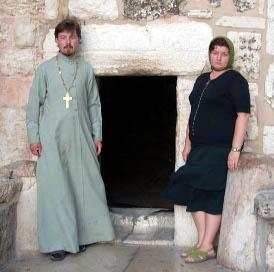 Протоиерей Андрей и матушка Анастасия Бондарук