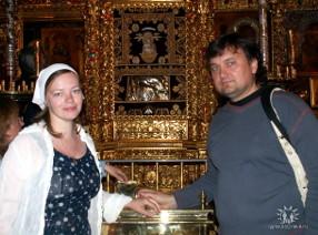 Надежда Стешенко-Григорьева и Валерий Григорьев