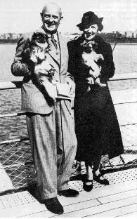 Вудхауз с женой