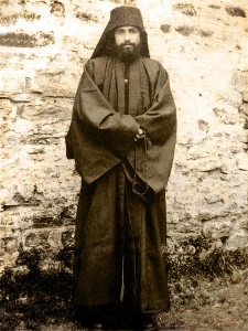 Молодой афонский монах Паисий Святогорец