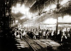 Сталелитейный завод Круппа в Эссене