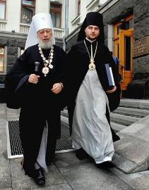 Блаженнейший Митрополит Владимир и епископ Александр (Драбинко)