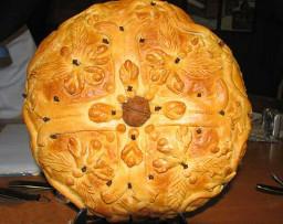 «Христов хлеб» — традиционное рождественское блюдо