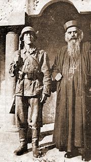 Святитель Николай (Велимирович) в Дахау