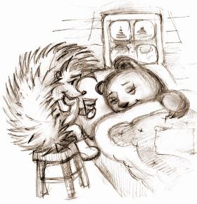 Ёжик и медвежонок