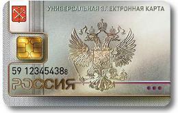 Электронная карта россиянина