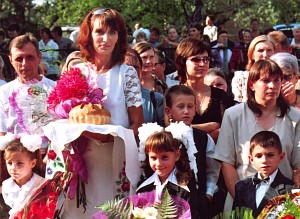 Алла Пасечник с учениками