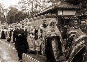 Похороны святителя Николая Японского