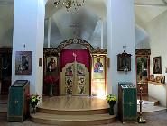 Основной придел храма