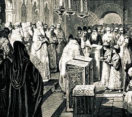 Цари и великие князья Иван V и Петр I