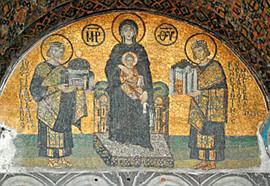 Императоры Константин и Юстиниан