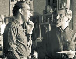 Алексей Баталов и Виктор Ардов