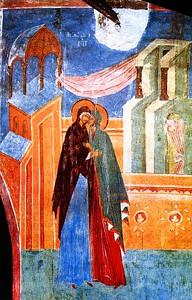 Пресвятая Богородица и Елисавета