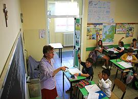 Урок в итальянской школе