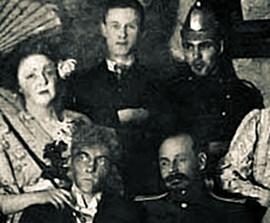 Булгаков в театрах играл Лешего, а в кругу друзей — вызванного духа