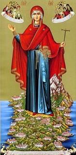 Пресвятая Богородица на Афоне