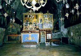 Погребальная пещера и Гроб Пресвятой Богородицы в Гефсимании