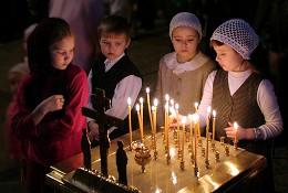 Діти в храмі
