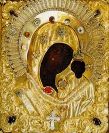 Икона Божией Матери Казанская-Вышенская