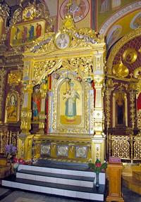 Рака с мощами святителя Иоасафа Белгородского