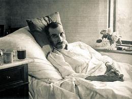 Александр Грин. Последняя прижизненная фотография. июнь 1932 г.