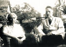 Иван Ильин с женой